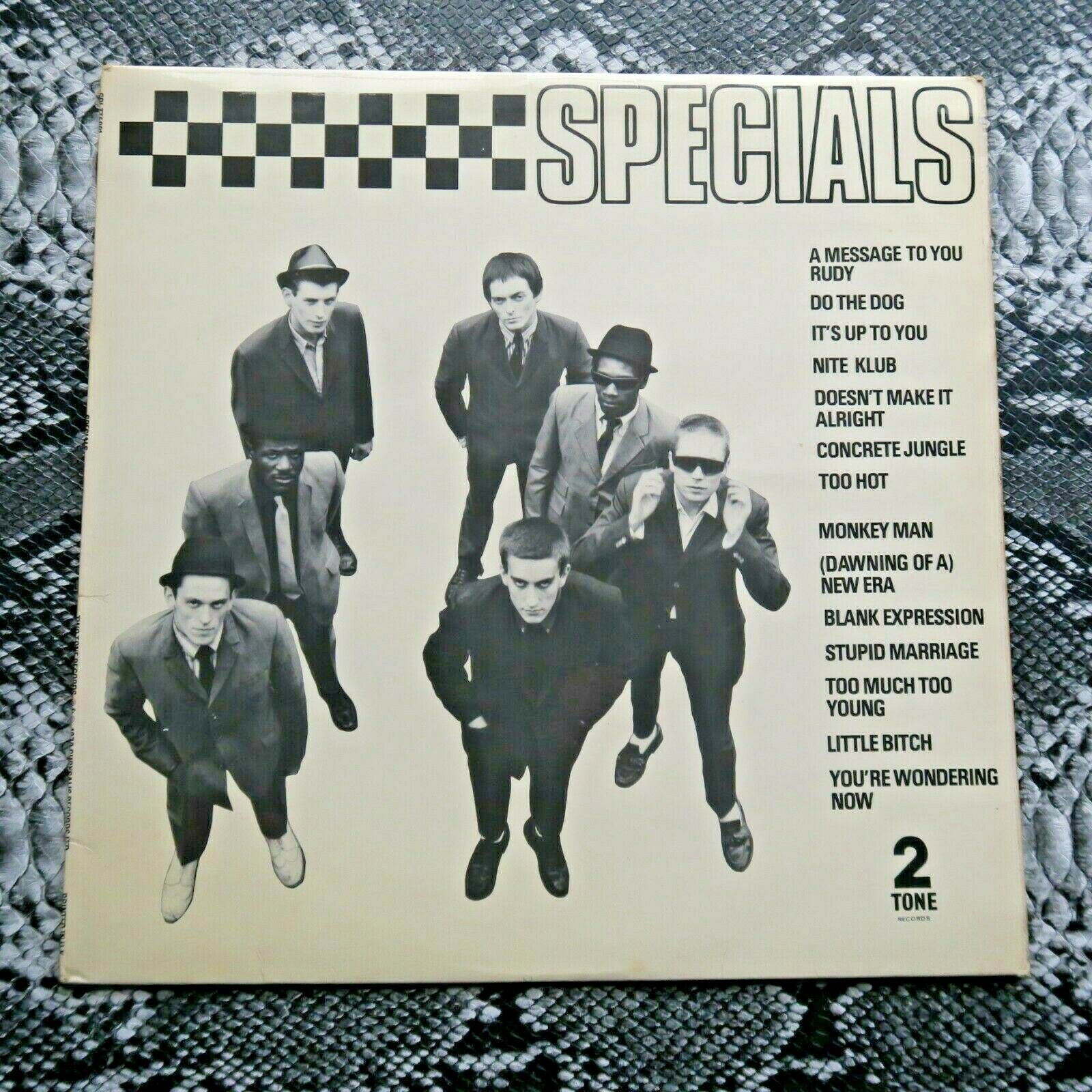 Specials Self Titled Two-Tone First pressing Ska UK LP 2-Tone Two-Tone Records