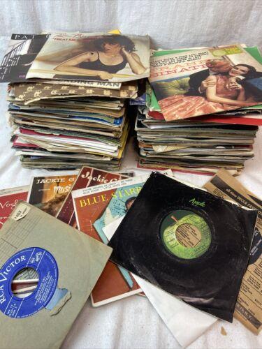 vinyl 45 record 150 Plus A lot  Records Era 50's,60's,70's,80's All Used