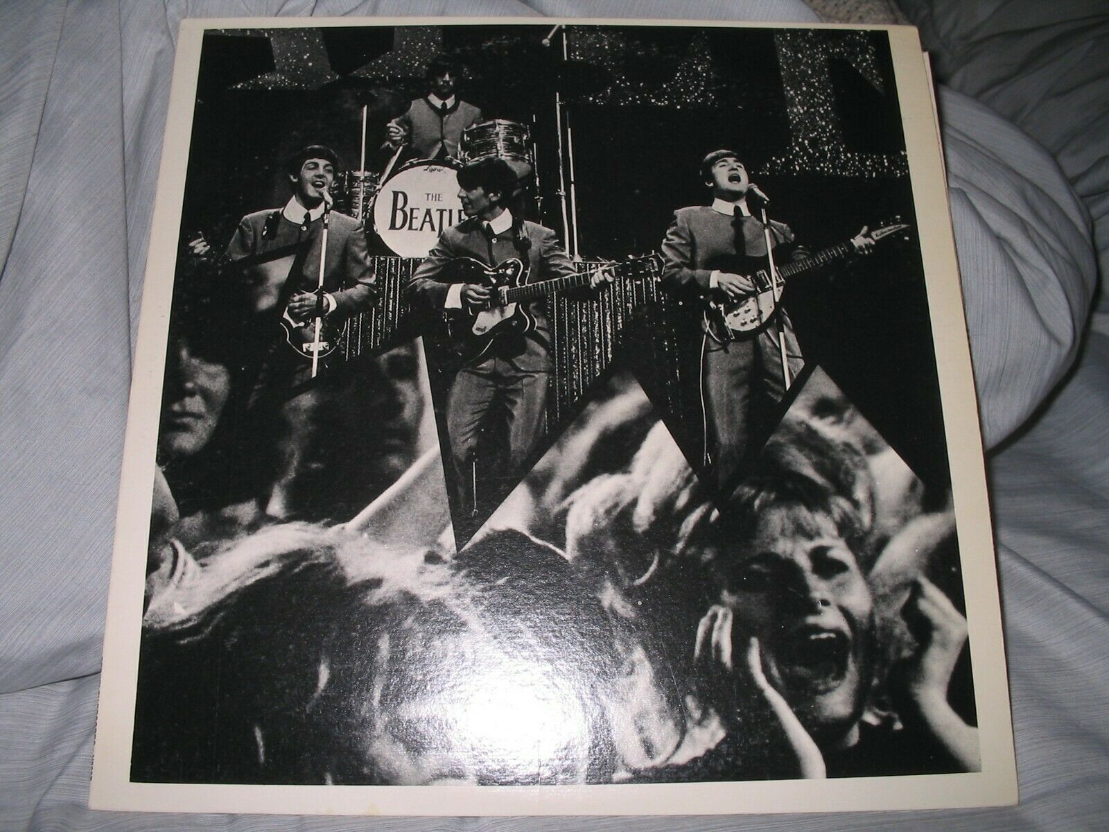 """THE BEATLES """"Back In 1964 At The Hollywood Bowl"""" Live Vinyl LP Mint Never Played"""