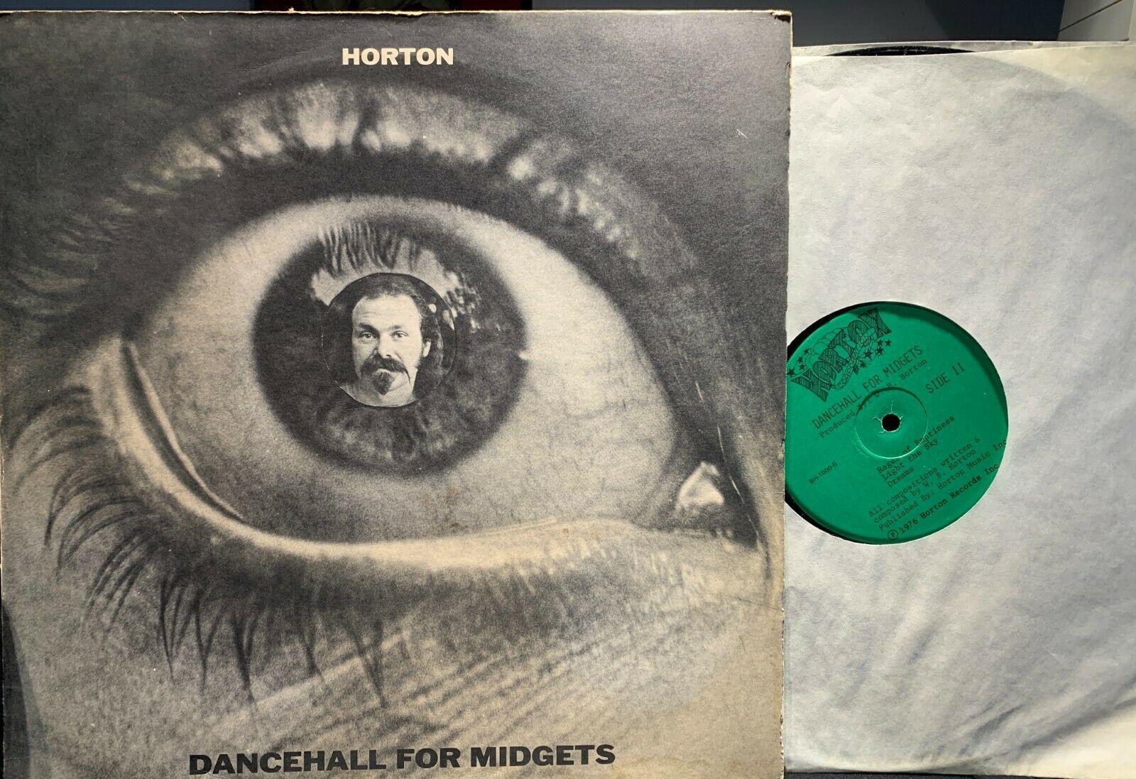 "psych/private pressing HORTON ""DANCEHALL FOR MIDGETS"" LP EXCELLENT VINYL"
