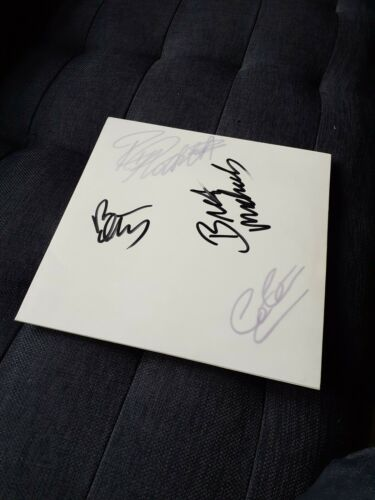 "Poison Signed white label promo 12"" Vinyl 80s LA Hair Metal, Cry Tough."