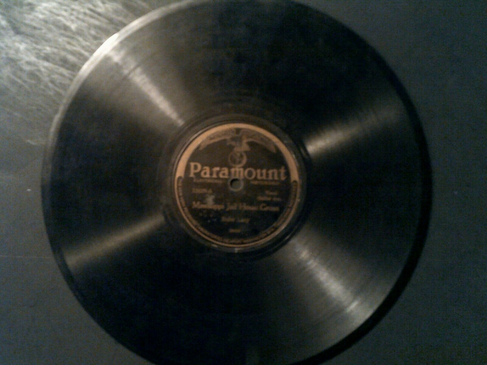 MISSISSIPPI JAIL HOUSE GROAN Rube Lacy 78 rpm record Paramount 20419