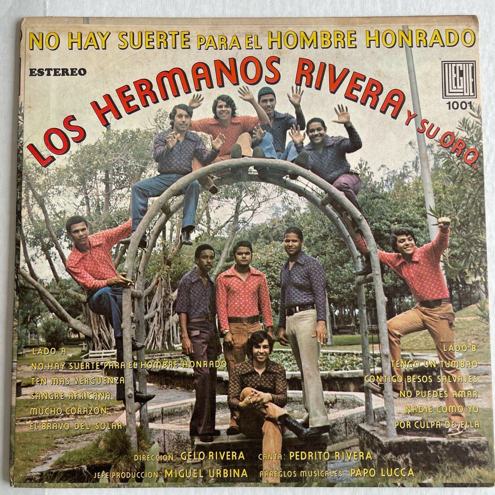 Los Hermanos Rivera y Orq - No Hay Suerte Para el Hombre Honrado / SALSA Llegue