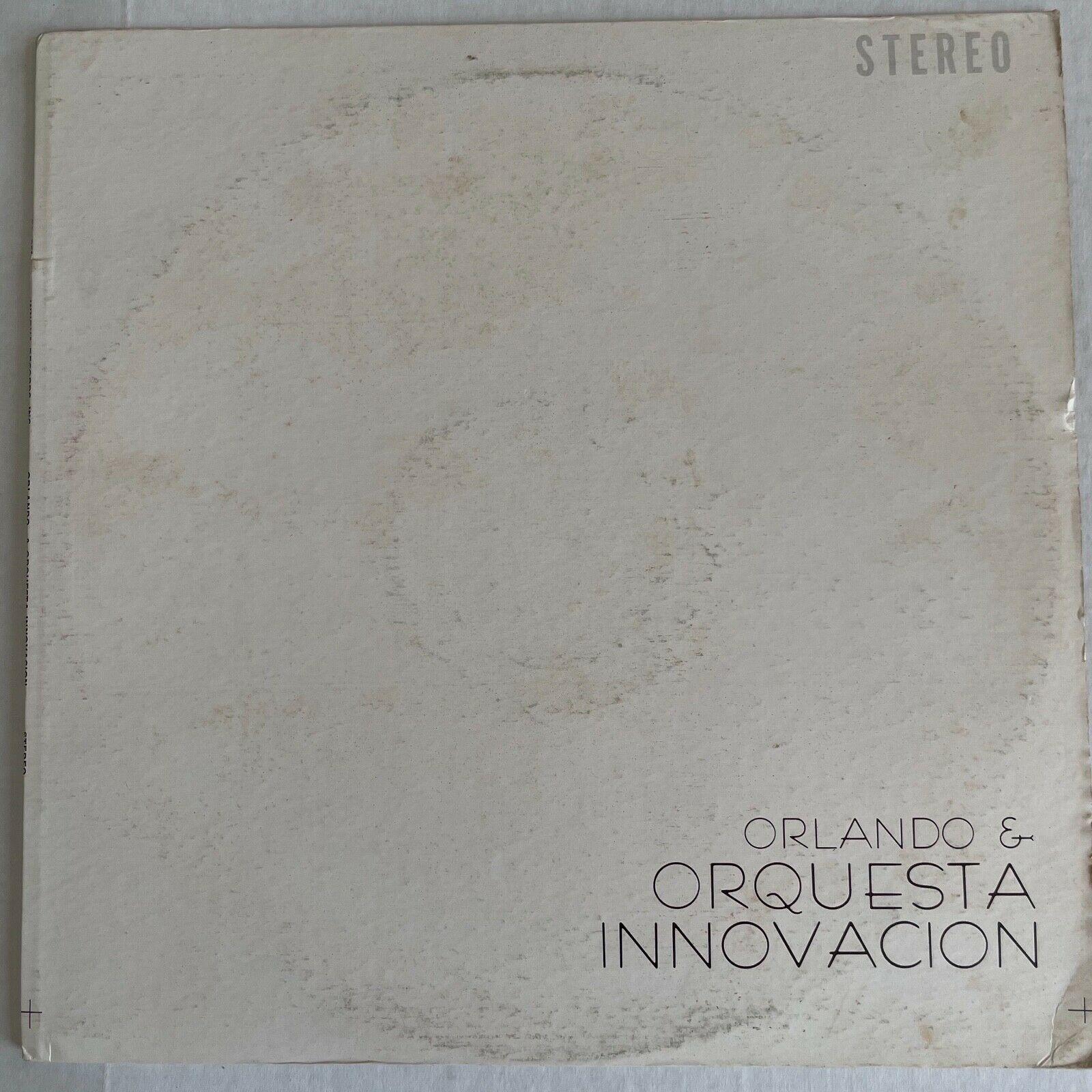 ORLANDO & ORQUESTA INNOVACION - RARE SALSA  melon records