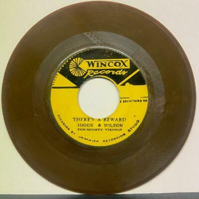 """Joe Higgs & Roy Wilson """"There Is A Reward"""" / """"Your Love Is Mine"""" Wincox 45rpm 7"""""""