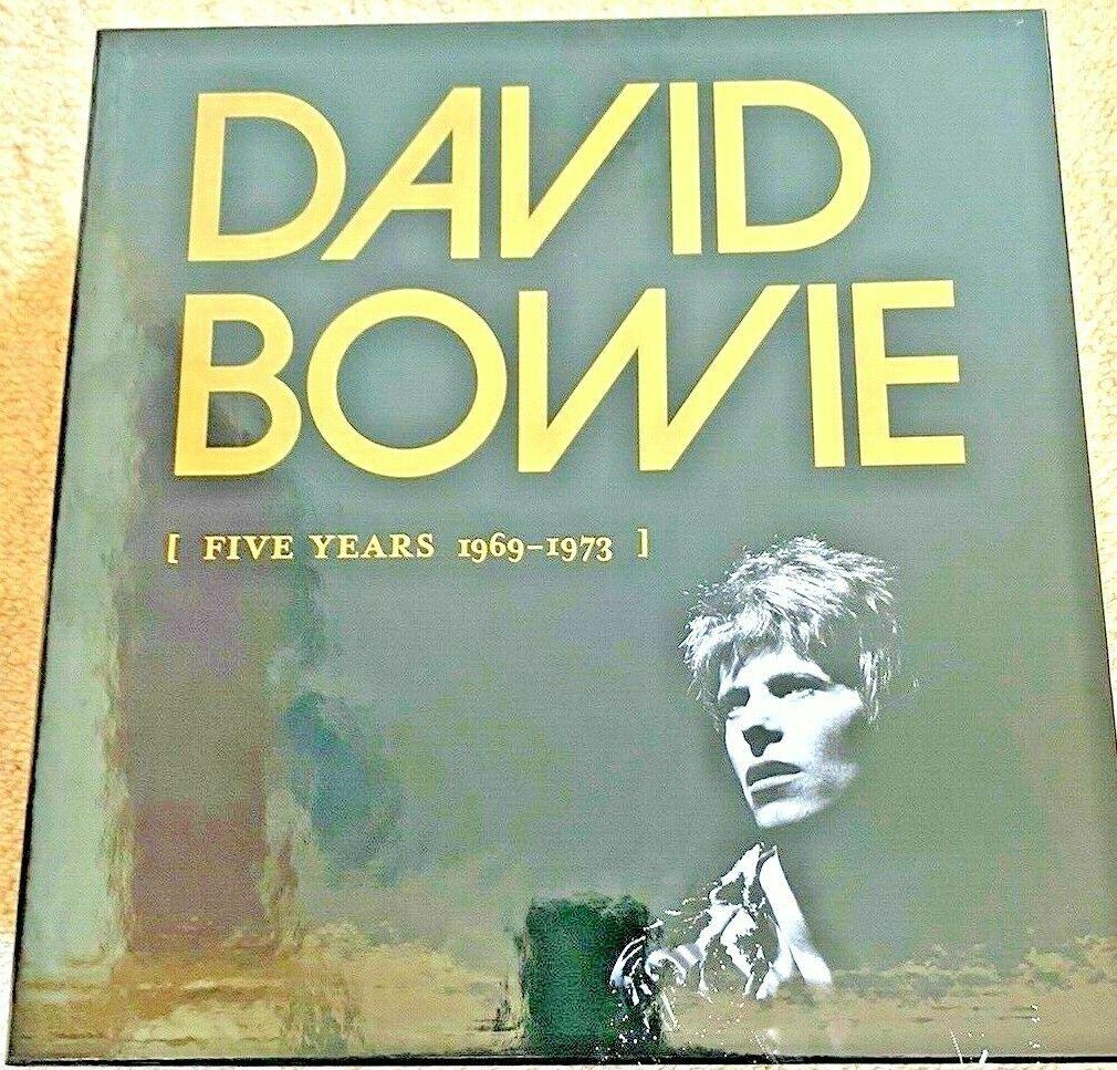 DAVID BOWIE - Five Years - 69 - 73 MINT - 13-VINYL LP Box Set  RARE  -1p Start