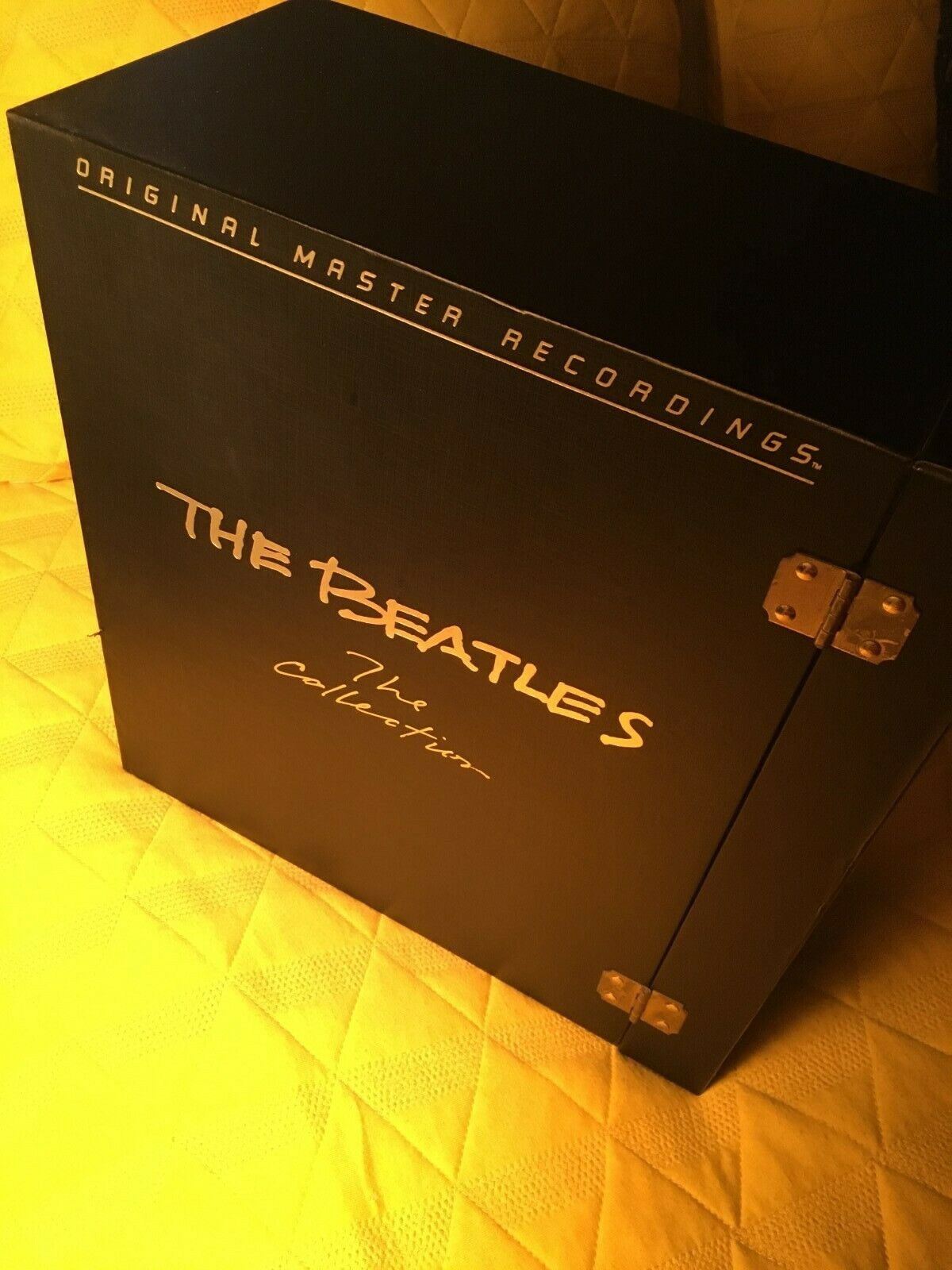 "Beatles ""The Collection"" signed and number box set from MFSL"