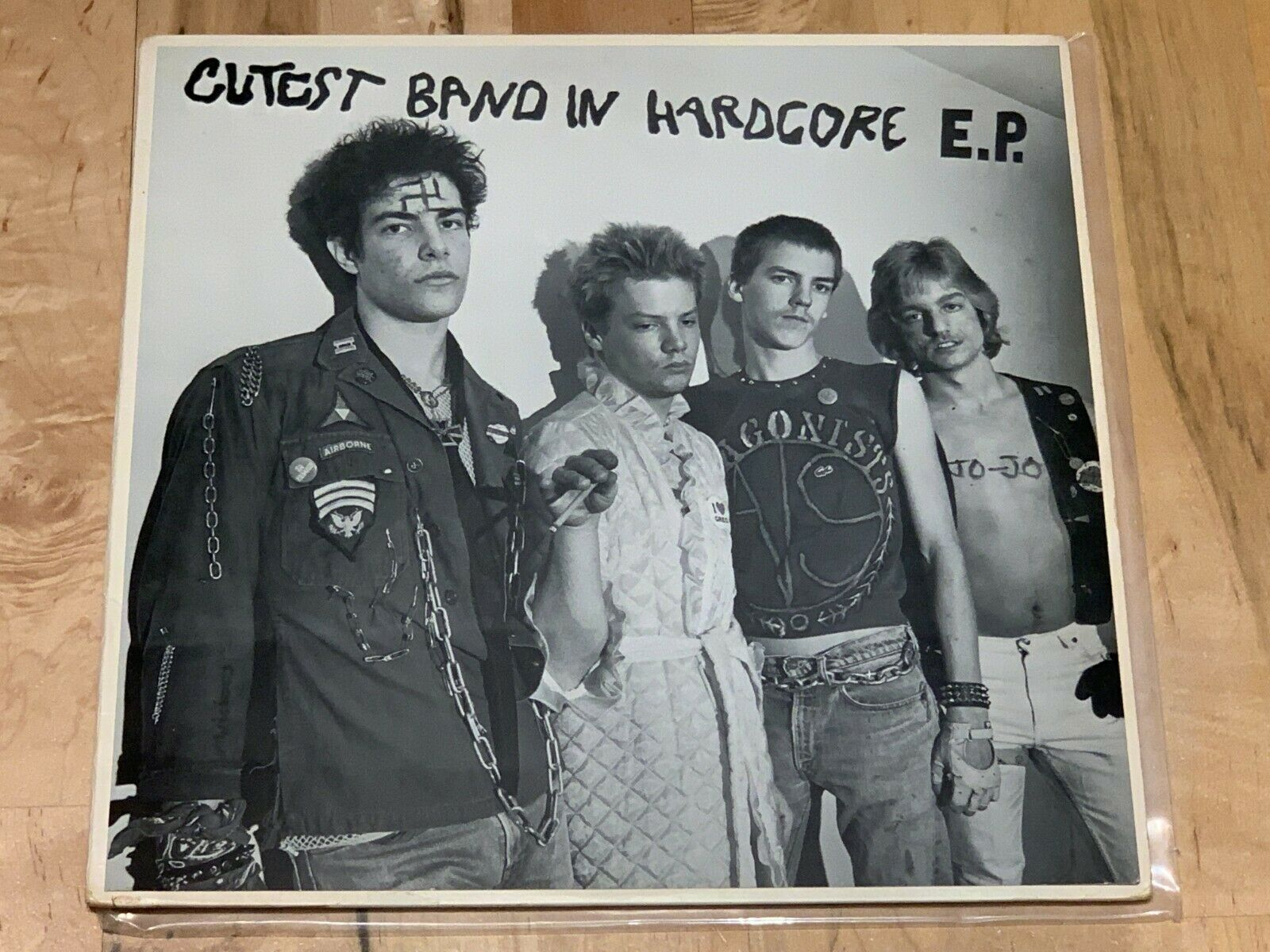 "Chronic Sick Cutest Band In Hardcore EP 12"" Mutha Records 1983 Child Abuse Worst"