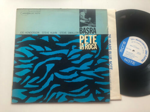 Pete La Roca LP Basra Blue Note NM ORIG RVG & Ear RARE NY USA