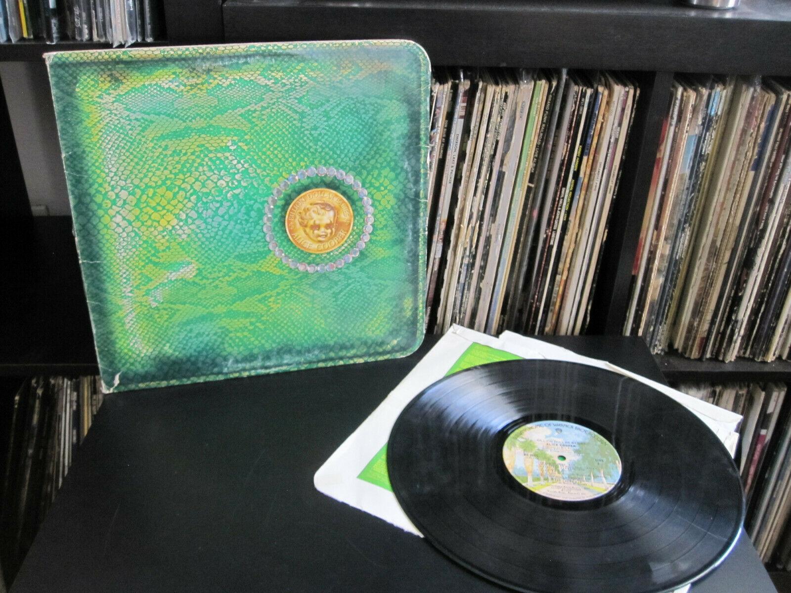 Alice Cooper ?– Billion Dollar Babies 1973 WB BS 2685 LP Rock Record G+/G+