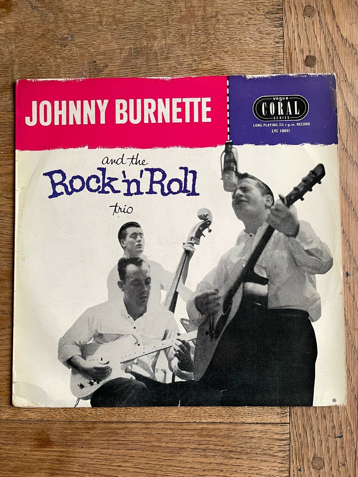 Johnny Burnette and the Rock n Roll Trio. UK 10inch Vogue Coral Ex