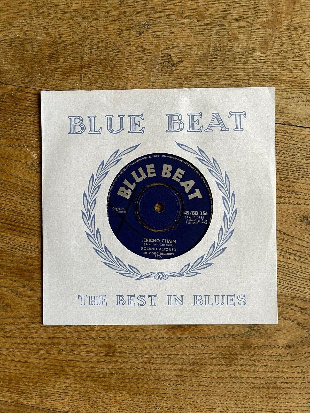 Ska - Roland Alfonso (Alphonso) - Jericho Chain - Blue Beat 45/BB356 Near Mint
