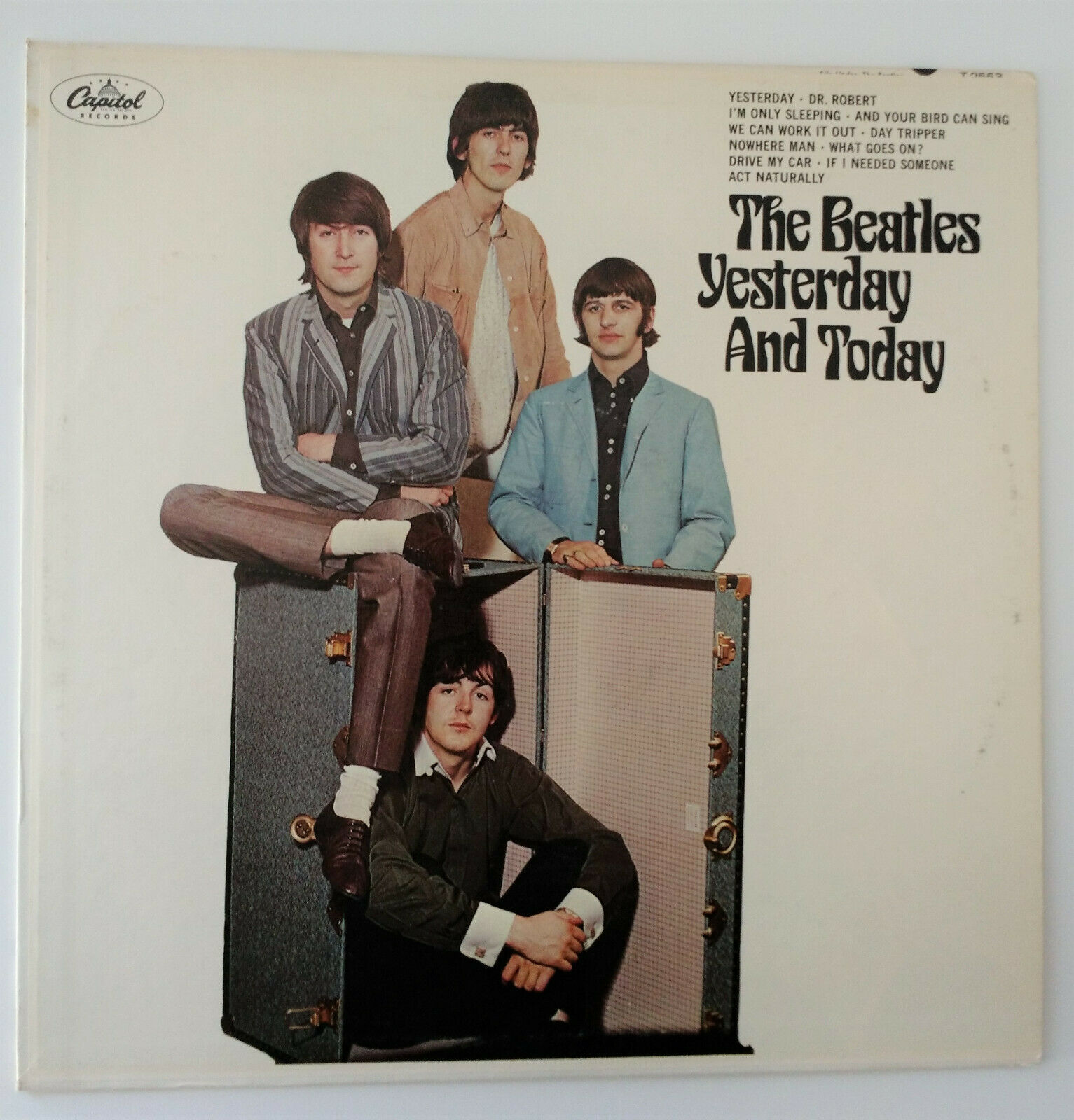 Beatles - Yesterday And Today 2nd State Mono LP VG+ Vinyl
