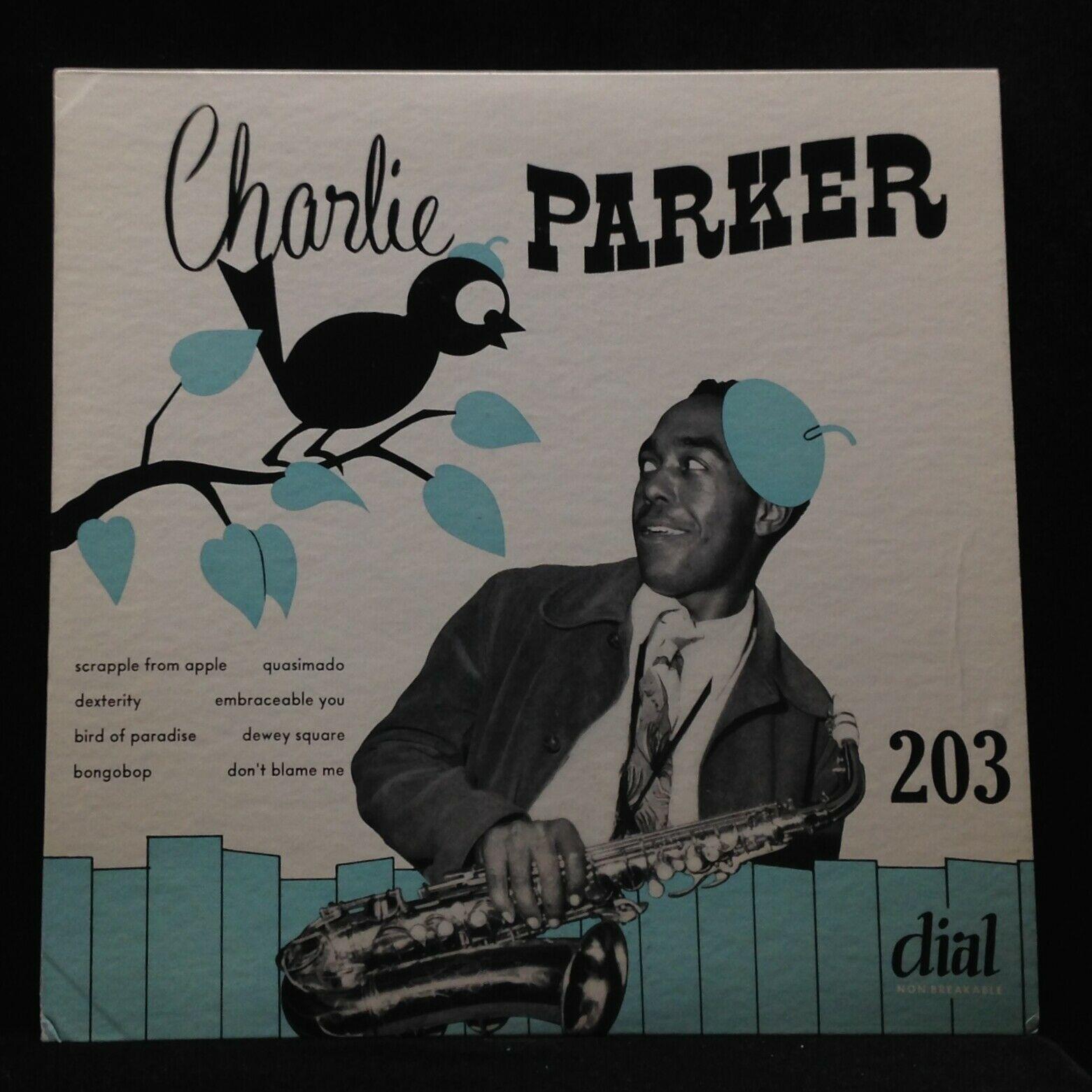 Charlie Parker Quintet/Sextet-No. 3-Dial 203-10 INCH ORIG SUPERB