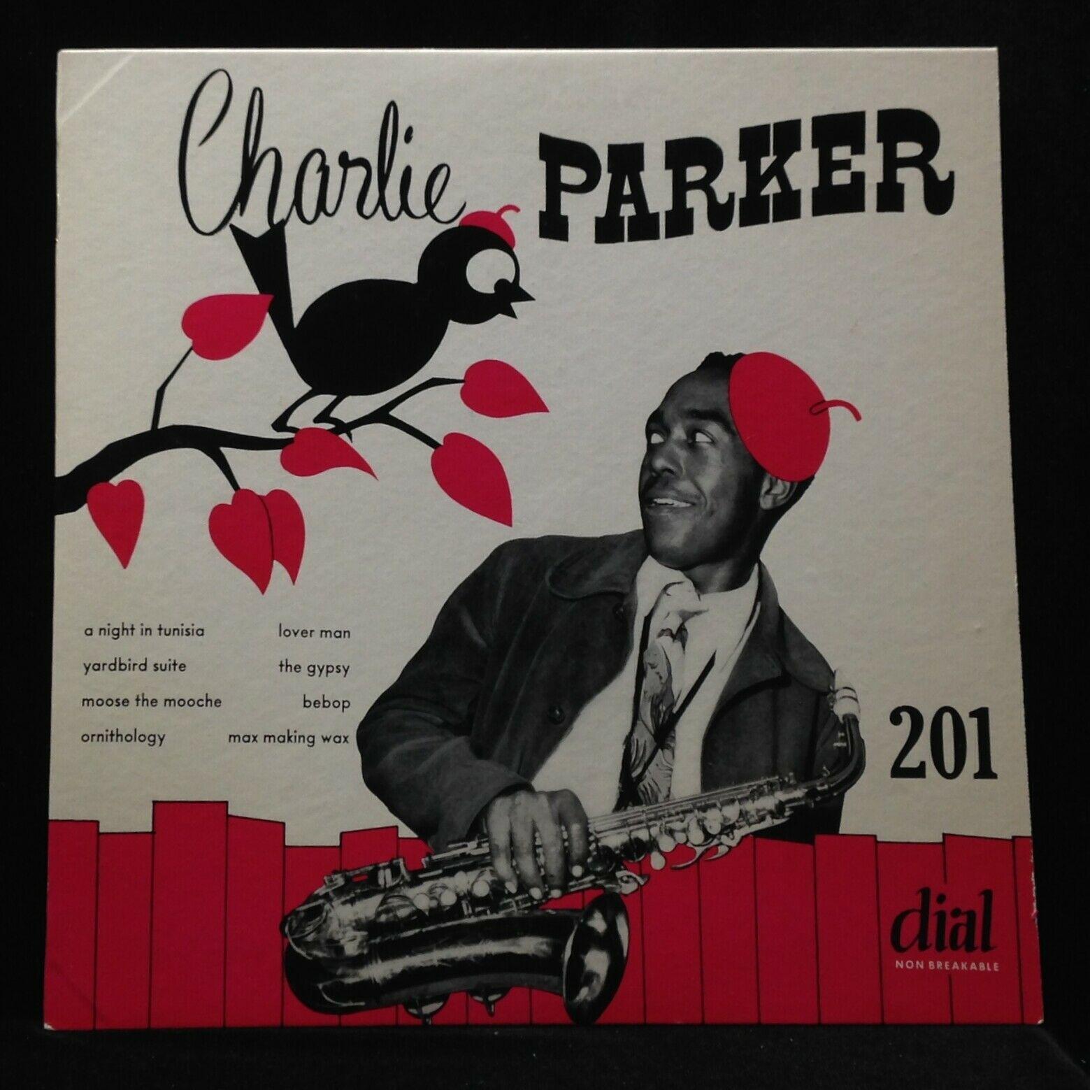Charlie Parker Septet/Quintet-No. 1-Dial 201-10 INCH ORIG SUPERB