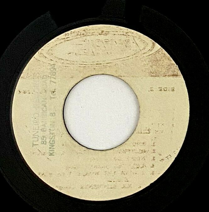 """Johnny Moore (Skatalites) """"Red Is Danger"""" Rare Reggae 45 Soundeck Blank mp3"""