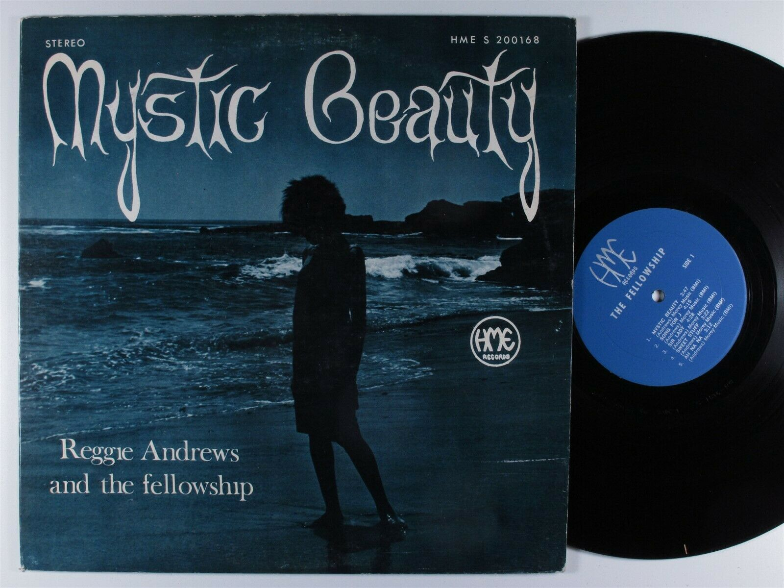 REGGIE ANDREWS & THE FELLOWSHIP Mystic Beauty HME LP **