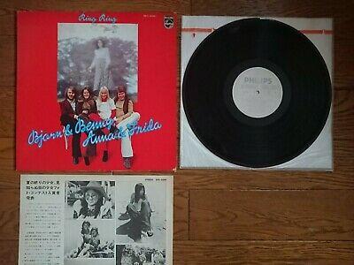 BJORN & BENNY , ANNA & FRIDA Ring Ring JAPAN LP White Label PROMO ABBA SFX-5091