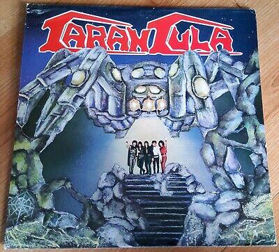 TARANTULA Tarantula ORIGINAL 1987 PORTUGUESE LP Signed by the band on back cover