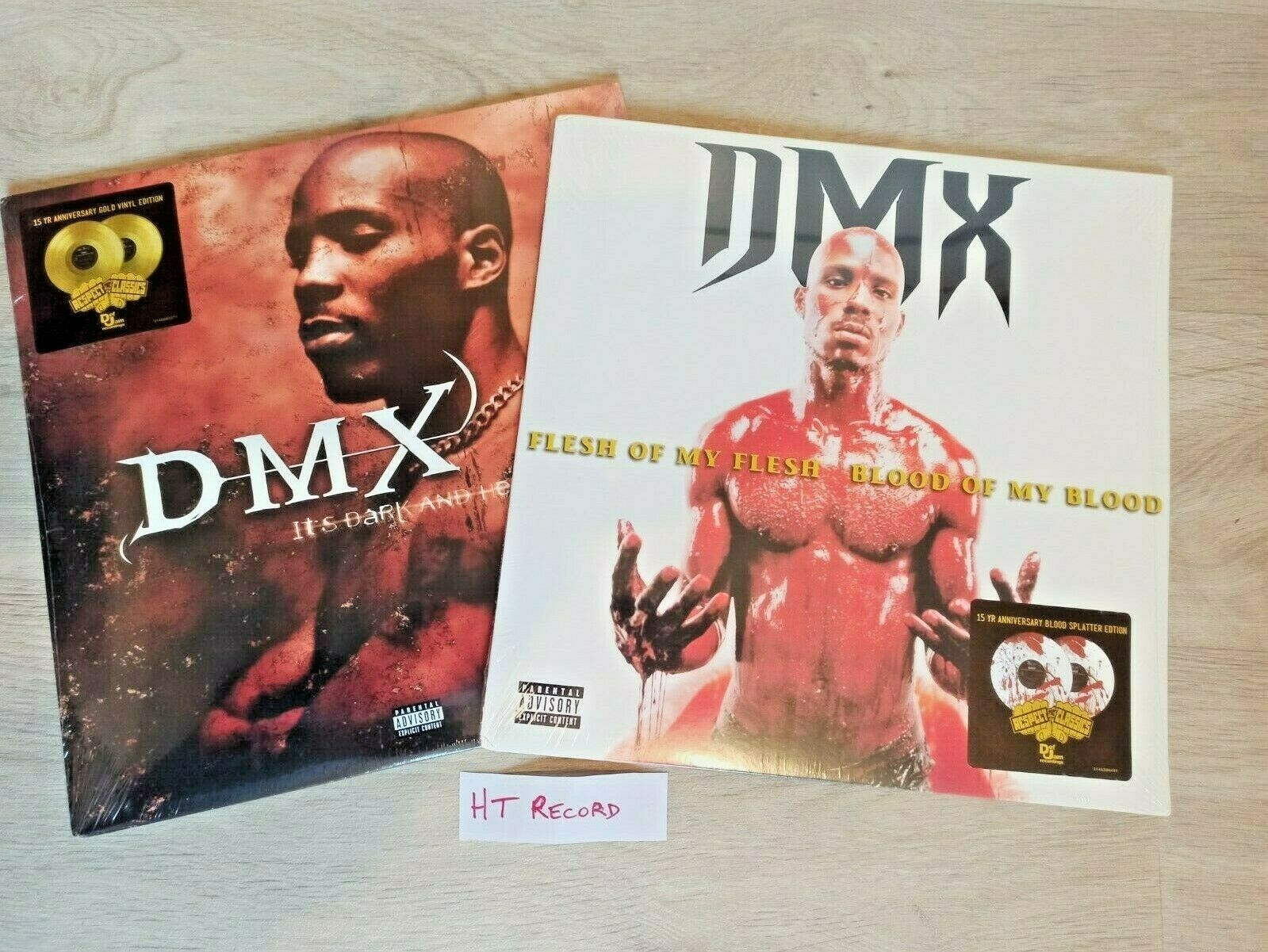 DMX LP Flesh Of My Flesh Blood Of My Blood + It's Dark And Hell Is Hot SEALED