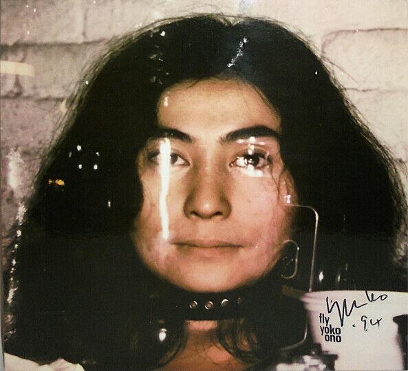 -Rare- 1971 -Yoko Ono- Vintage PSA/DNA Signed/Autograph Fly Record Album