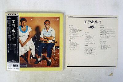 ELLA FITZGERALD ELLA & LOUIS VERVE MV 9503-5 Japan OBI VINYL 3LP