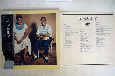 ELLA FITZGERALD,LOUIS ARMSTRONG ELLA & LOUIS VERVE MV 9503-5 Japan OBI MONO 3LP