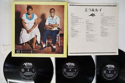 ELLA FITZGERALD ELLA & LOUIS VERVE MV 9503-5 Japan VINYL 3LP