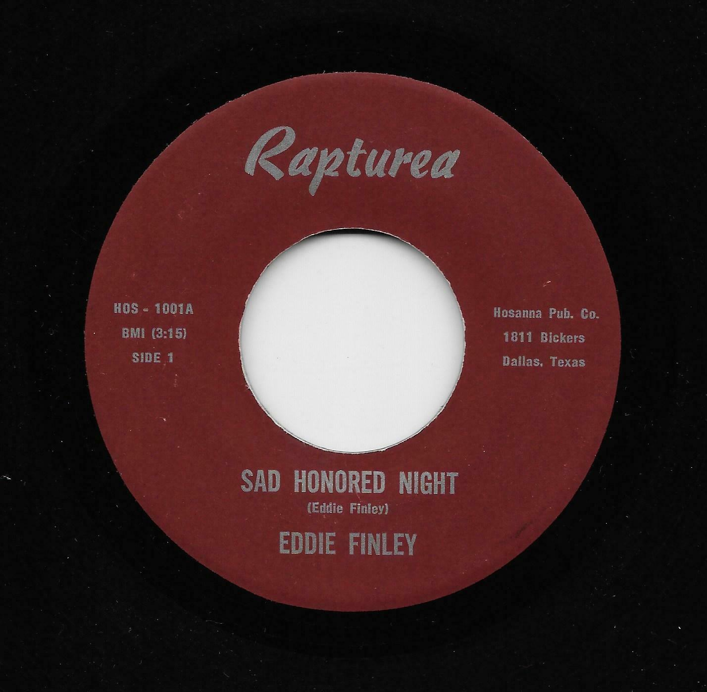 Eddie Finley - Sad Honored Night / Creations Band - Heavy Hips (Soul, 45) 1001