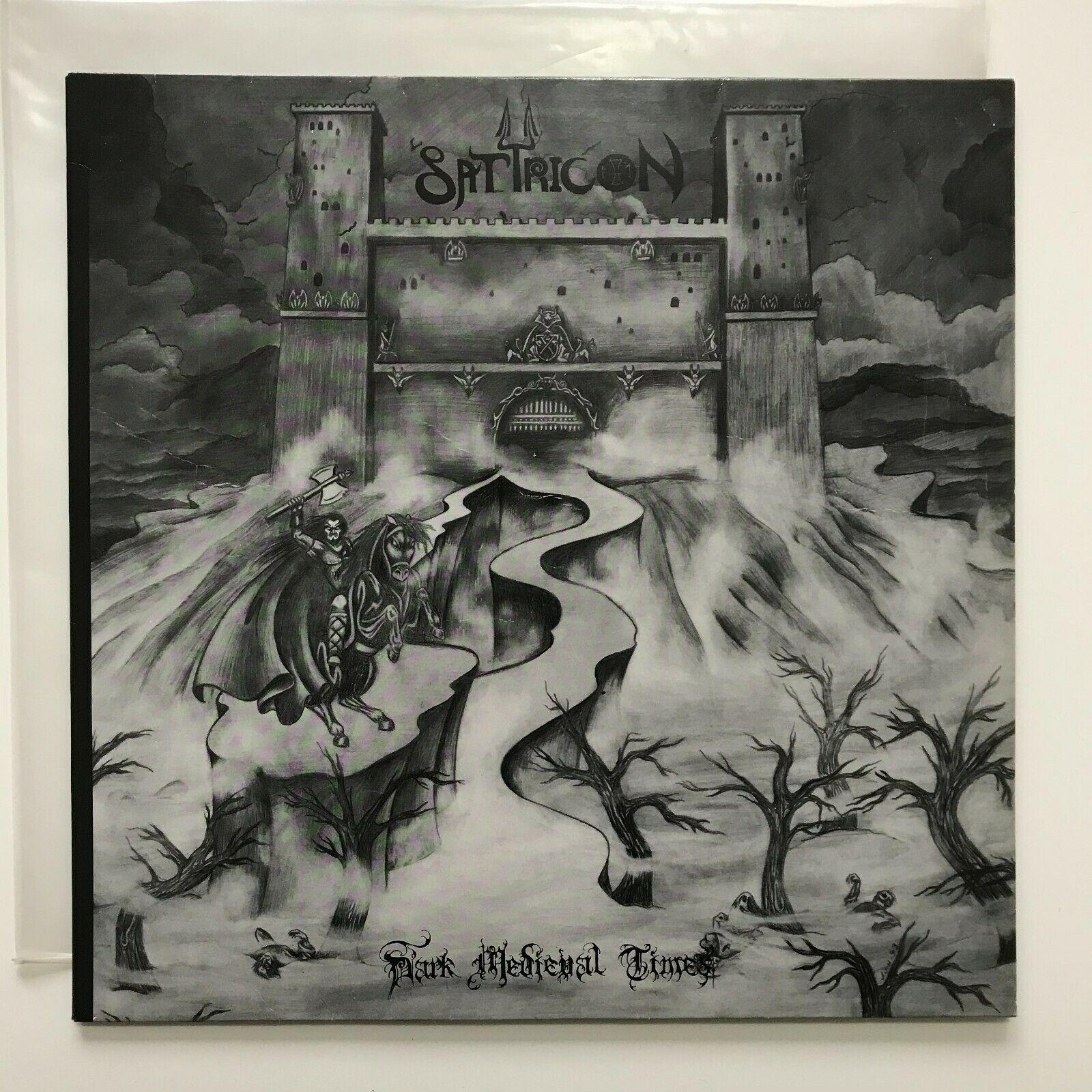 Satyricon Dark medieval times LP 1st press Moonfog 94 SIGNED wongraven storm