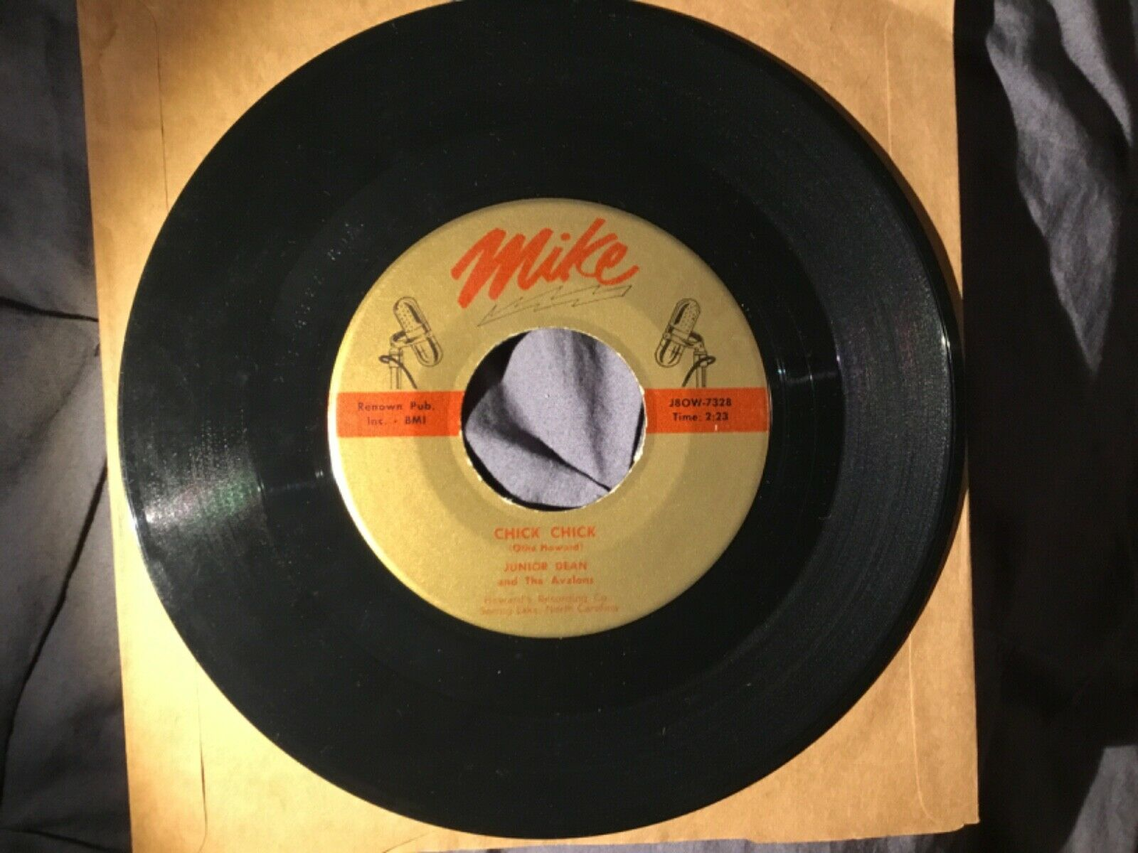 Rockabilly Original 1958 Junior Dean and the Avalons: Chick Chick and Surrender