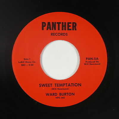 Northern Soul 45 - Ward Burton - Sweet Temptation - Panther - VG++ mp3