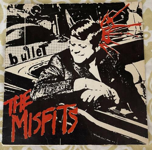 "The Misfits - Bullet 7"" Vinyl Original 1st Press Black Vinyl w/ Insert Near Mint"