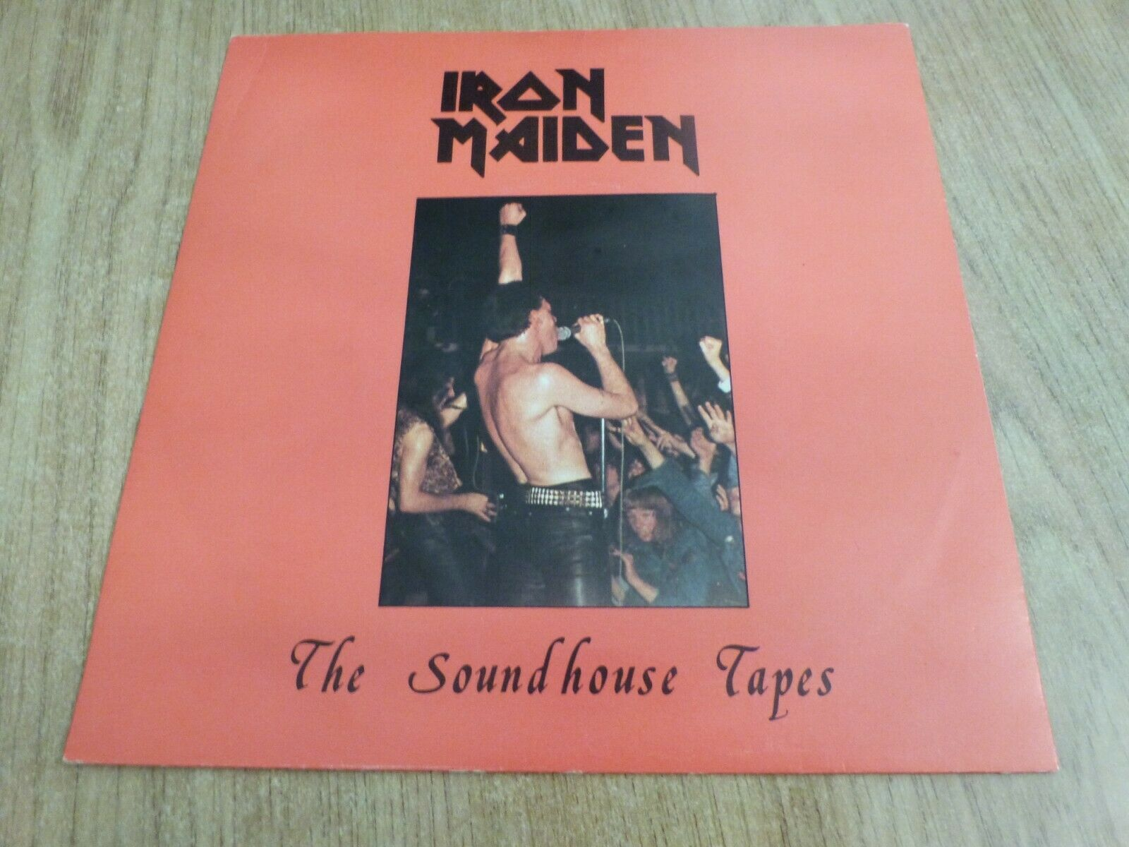 IRON MAIDEN - SOUNDHOUSE TAPES - UK ORIGINAL - SEE DESCRIPTION - VERY GOOD++
