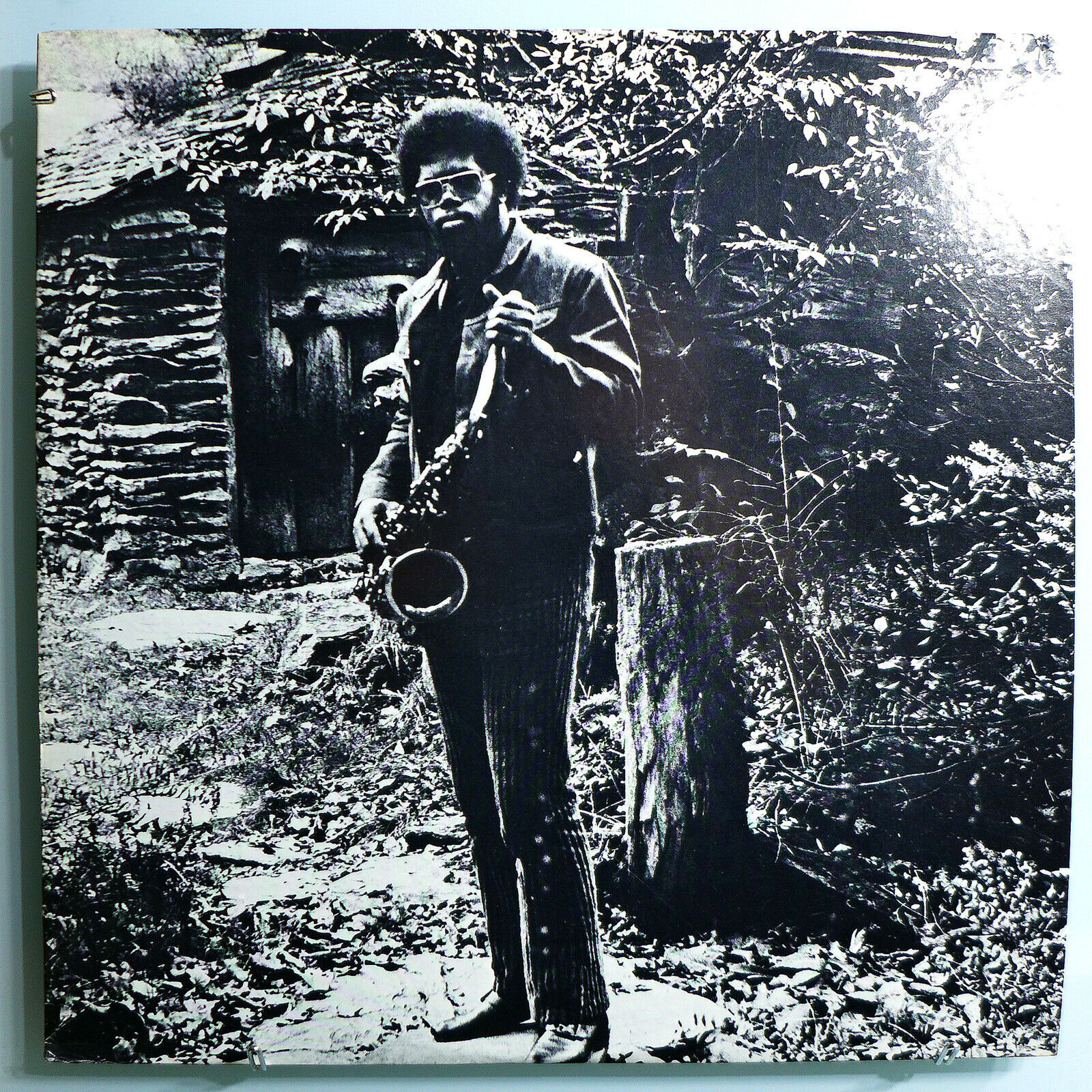 JOE McPHEE NATION TIME INSANELY RARE ORIG '71 FREE JAZZ PRIVATE LP ON CJR LABEL