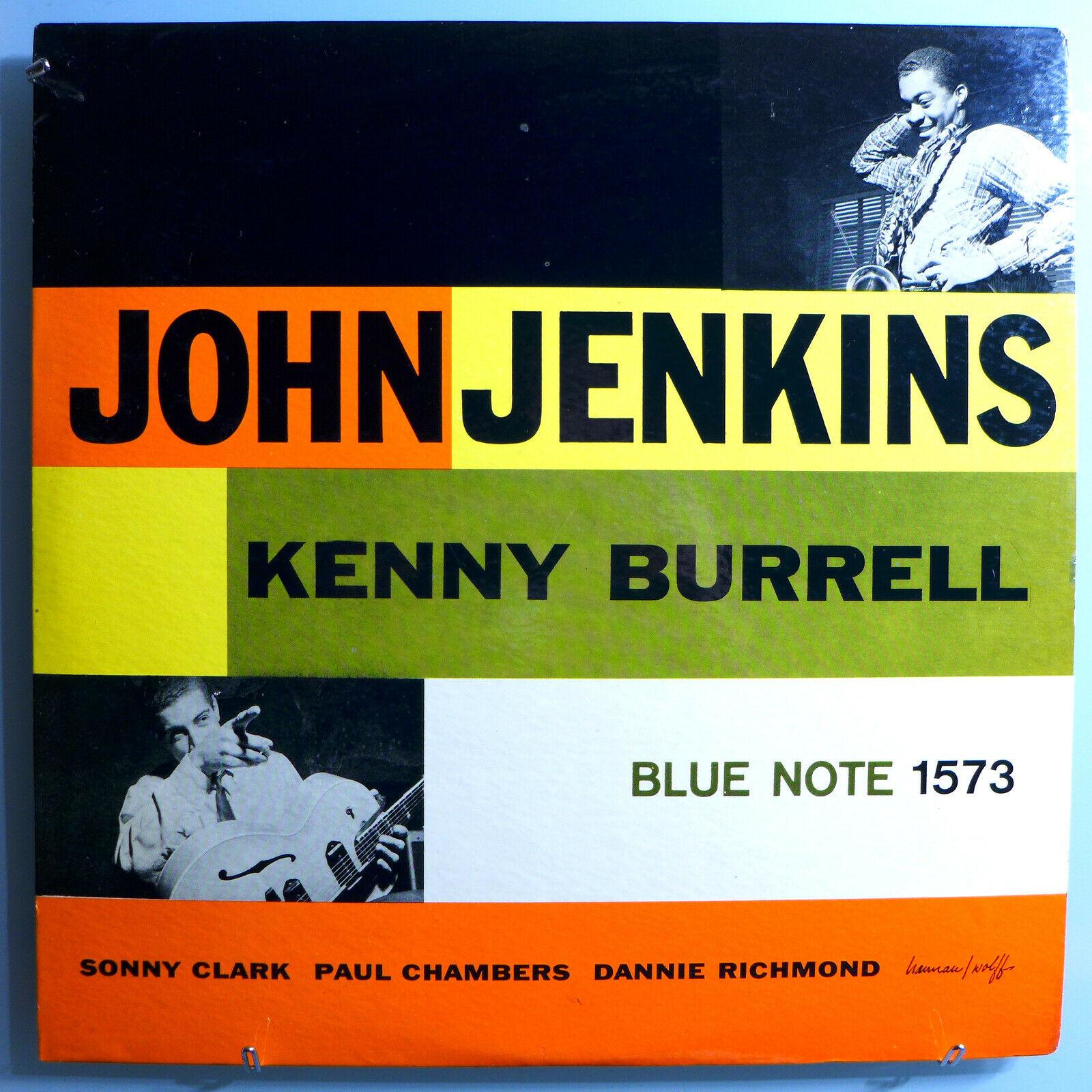 JOHN JENKINS w/KENNY BURRELL INSANELY RARE ORIG 1957 BLUE NOTE MONO LP BLP-1573