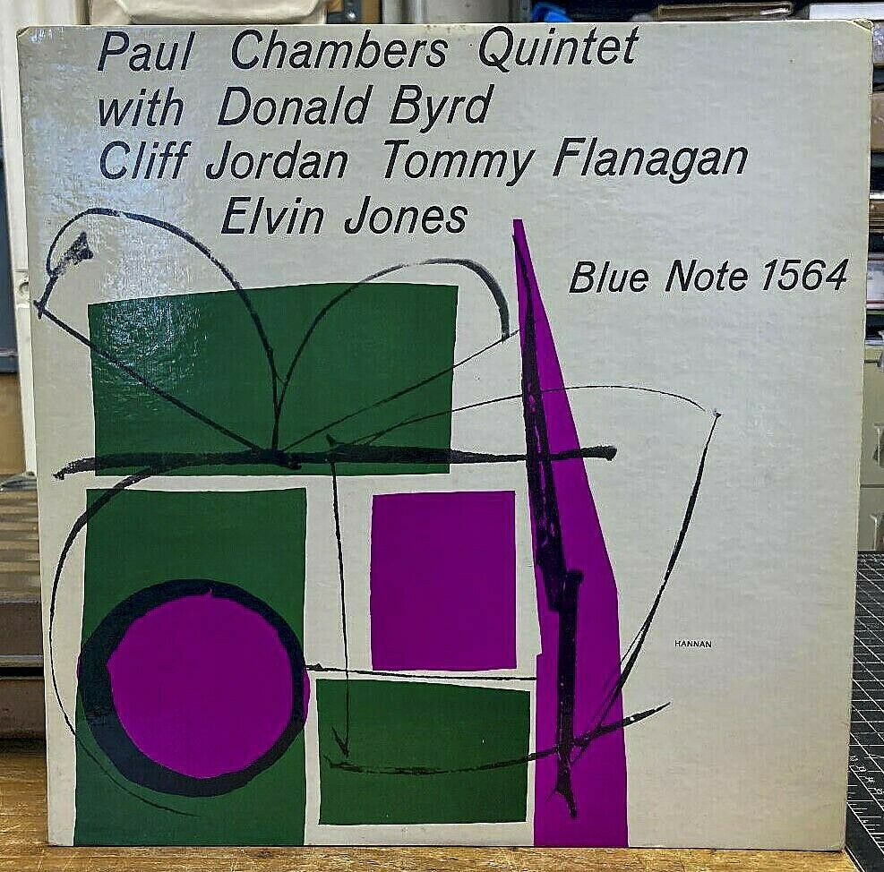 Paul Chambers on Blue Note 1564