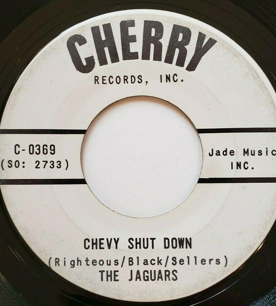 Very Rare - The Jaguars Chevy Shut Down surf rocker on Cherry- Hear
