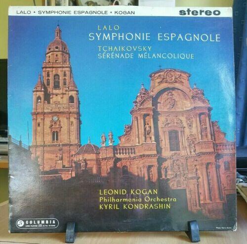 Columbia SAX 2329 B/S Leonid Kogan violin PO Kondrashin Lalo Tchaikovsky