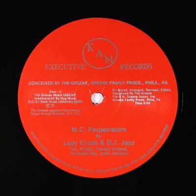 "Lady Crush & DJ Jazz - M.C. Perpetrators 12"" - KAM Executive - Electro Rap MP3"