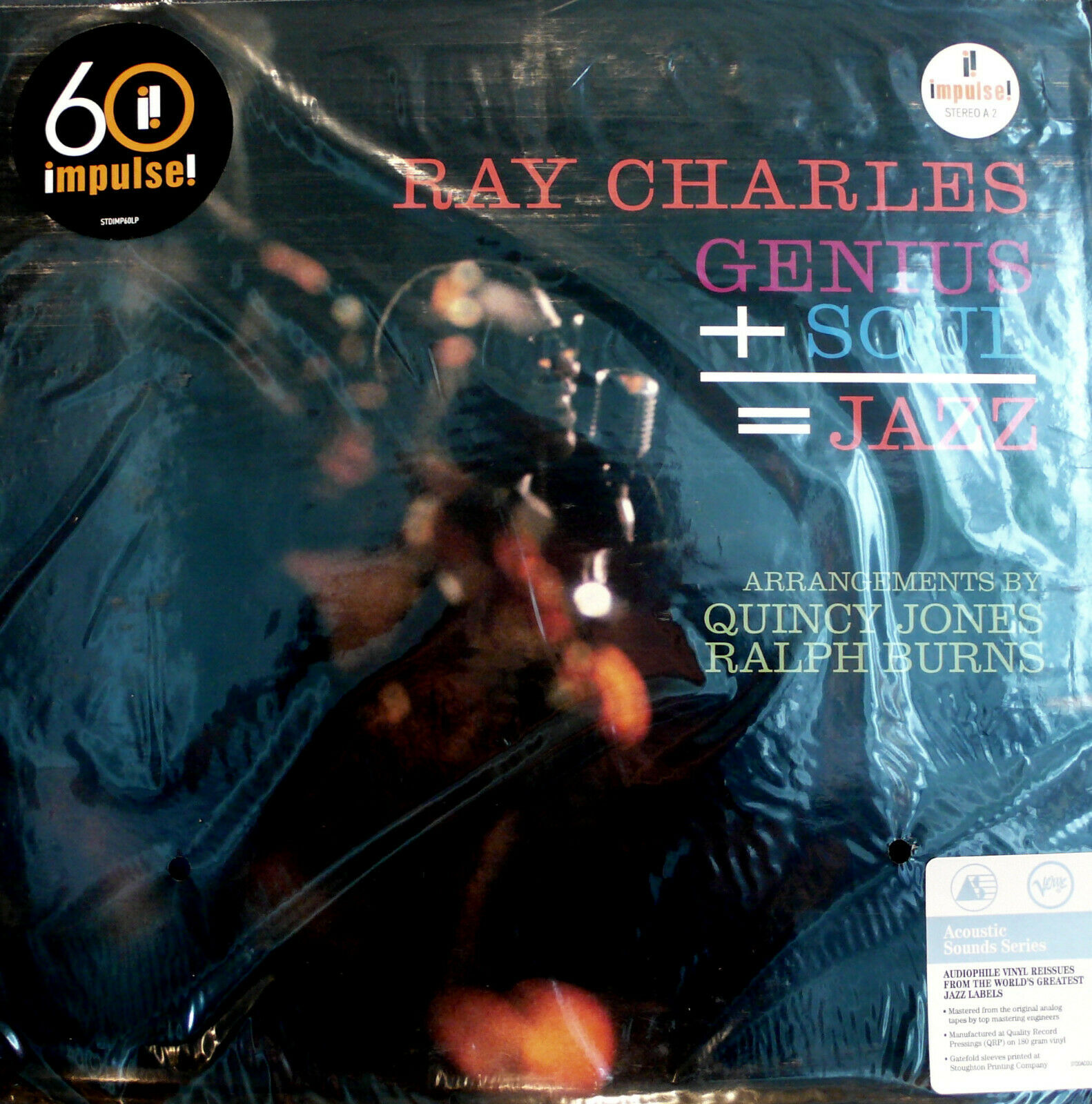 impulse  A-2 RAY CHARLES GENIUS + SOUL = JAZZ ACOUSTIC SOUNDS 180 g 2021