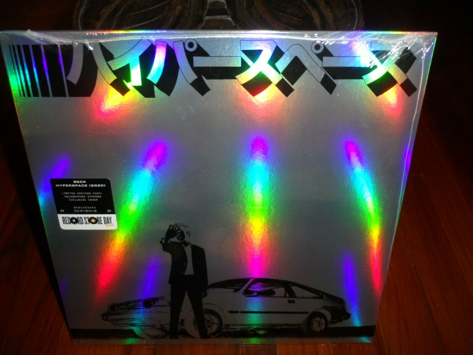 Beck - Hyperspace 2021 RSD LP Holographic Etching Exclusive Cover Brand New