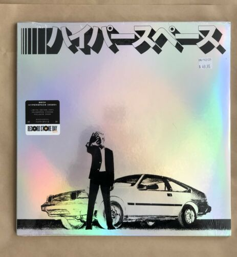 """Sealed Lp Beck """"Hyperspace"""" Limited Etching Vinyl RSD 2021 Record Store Day"""
