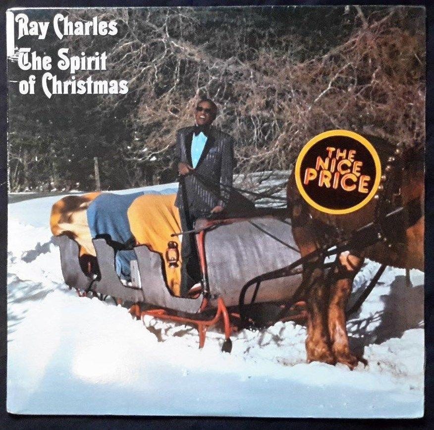 1985-RAY CHARLES - The Spirit of Christmas RARE - LP Vinyl Record  MINT (SEALED)