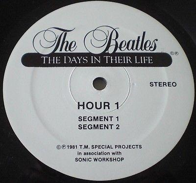 THE BEATLES - THE DAYS IN THEIR LIFE - 30  LPs + 1 LP - ca. 30 Std. Story - nm