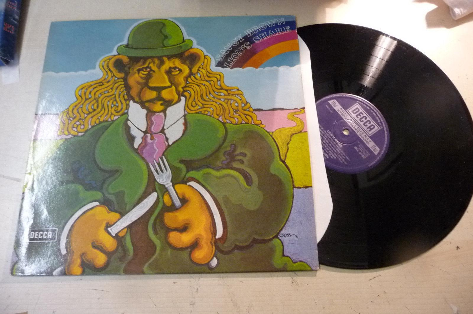 "SAVOY BROWN"" LION'S SHARE- DISCO 33 GIRI DECCA UK 1972-RISTAMPA"