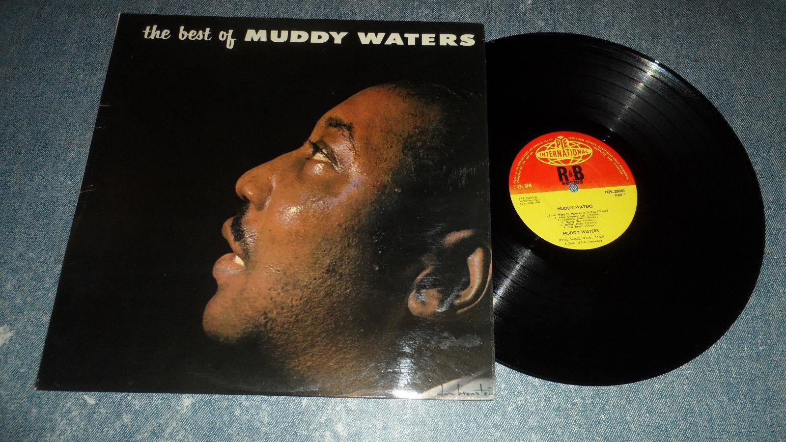 MUDDY WATERS 'THE BEST OF MUDDY WATERS' NPL 28040 PYE INT 1964 UK MONAURAL ISSUE