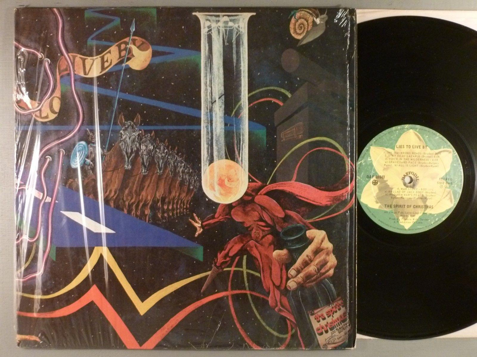 Spirit Of Christmas, The  Lies To Live By  Hard Rock; Psych Prog  Canadian Press