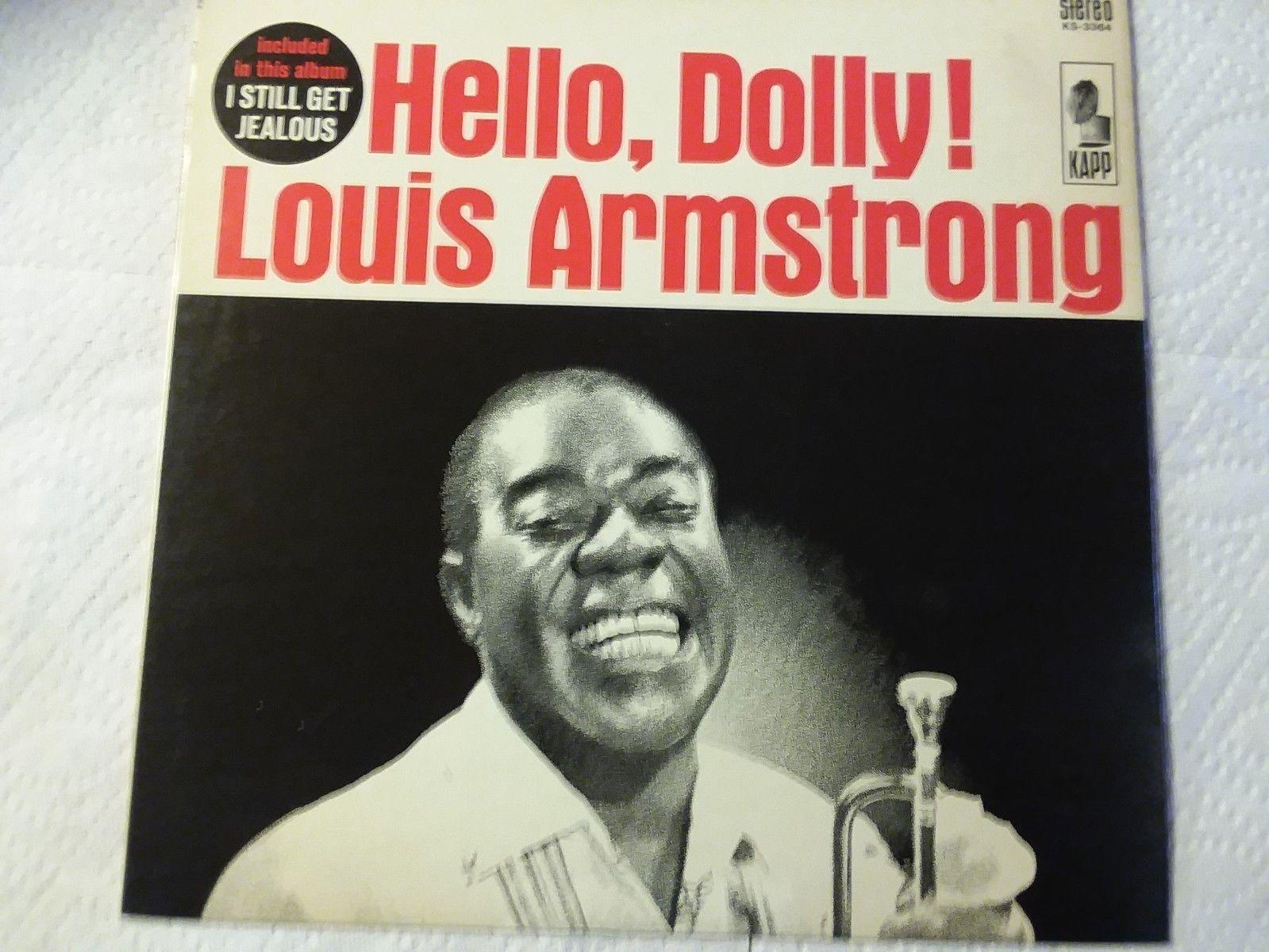 Vintage Vinyl louis Armstrong 'Hello Dolly' 1964