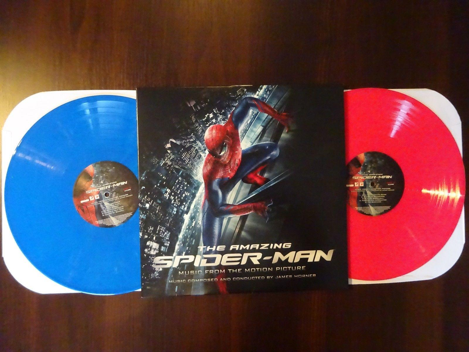 THE AMAZING SPIDERMAN  -   2x COLORED LP VINYL RECORD SOUNDTRACK OST LIMITED 500